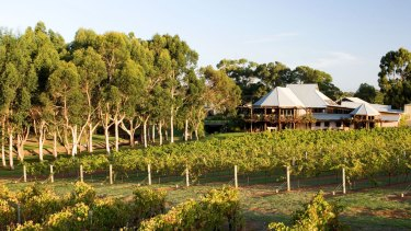 Vasse Felix in Margaret River, the region's first winery.