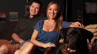 After confronting her past, Ms Gibson now lives in Canberra with supportive partner Andrew and their dog Max.