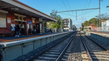 Rental yield drops about 0.2 per cent when a property falls out of a 500 metres radius from a train stop.