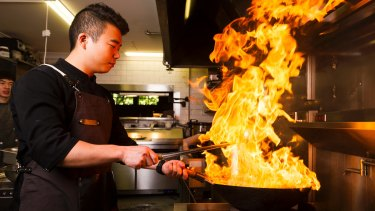 KorBQ chef Clark Kang is expecting to prepare more than a tonne of food across the 10 days of the Enlighten Night Noodle Markets.