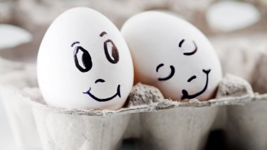 Crack open your kindness: Eating eggs helps people shell out when it come to charity.