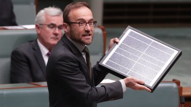 """It's time to admit that competition has failed to deliver electricity that is cheap and clean,"" Adam Bandt said."