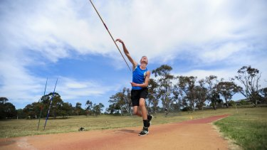 Joey Kremer, 15, will compete at the Little Athletics Australian championships in Perth after setting an ACT record.