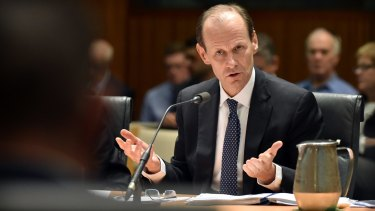 ANZ chief executive Shayne Elliott got down and dirty in Tasmania.