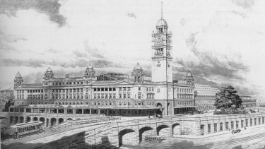 Central Station from Robert Mckillop's book <em>100 Years of Central Station</em>.