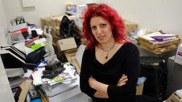 Diana Asmar was elected secretary of the Victoria No 1 Branch of the HSU in 2013.