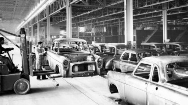 Archive photo: The Ford factory at Campbellfield.