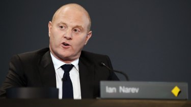Ian Narev, outgoing chief executive officer of Commonwealth Bank of Australia.