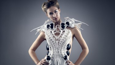 The Spider Dress 2.0 attacks strangers if they come too close.