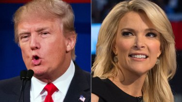 Donald Trump's attacks on Fox anchor Megyn Kelly date to August, when she asked him about his history of disparaging remarks toward women.