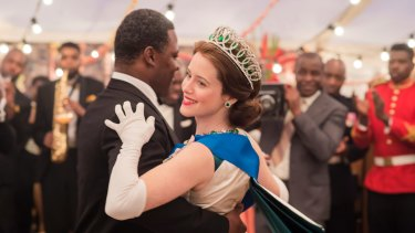 Claire Foy as Queen Elizabeth in season 2 of Netflix's The Crown.