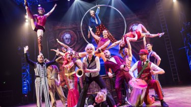 Circus Oz 2015 ensemble in But Wait...There's More.