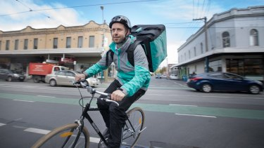 Deliveroo's Australian head Levi Aron does undercover deliveries once a fortnight.