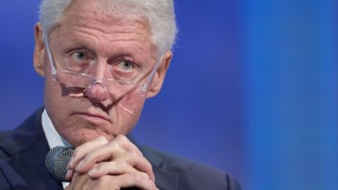 """Former US President Bill Clinton admitted weakness for fast food may have resulted in """"stress eating""""."""