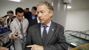 Republican Senator Rand Paul is a vocal opponent of the revised bill which he says does not repeal enough of Obamacare.