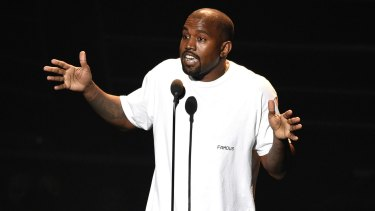 Kanye West's Yeezy fashion line also elevates the white T-shirt into high fashion.