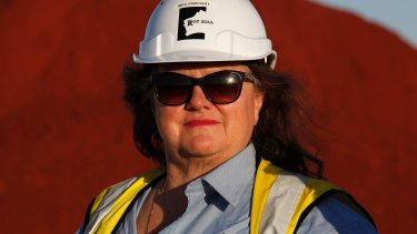 Analysts say costs of production at Gina Rinehart's Roy Hill will likely be comparable with Fortescue's when first ore is due to be shipped in September.