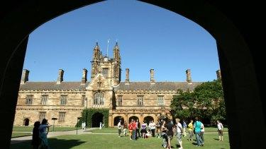 Sydney University.