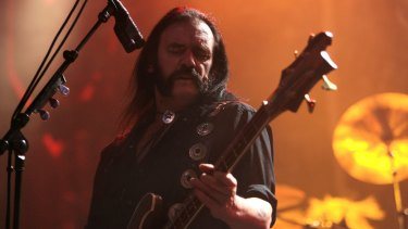 Fans are trying to get front man Lemmy from Motorheads, on the periodic table.