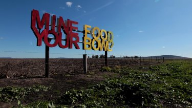 Farmers on the Liverpool Plains some 20 kilometres from Werris Creek say coal mining poses too big a risk to groundwater sources.