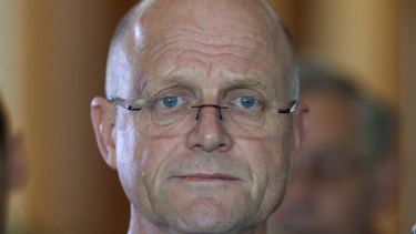 Threat: Senator David Leyonhjelm, who introduced the same-sex, transgender and intersex marriages bill last week, has upped the ante.