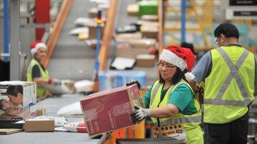 More than 57 per cent of Australians are opting to buy Christmas gifts online this year.