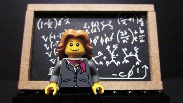 The Lego Dr Lisa Randall.