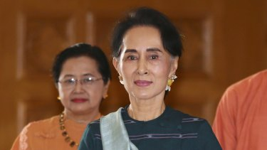 Critics ask whether Aung San Suu Kyi is putting the pursuit of power above her principles.