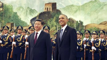 No Great Wall between China's Xi Jinping and the US's Barack Obama when it comes to climate action.