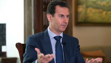 Bashar al-Assad is thumbing his nose at the West.