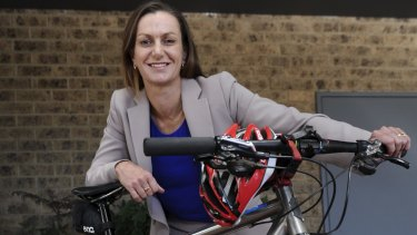 Amy Gillett Foundation chief executive Tracey Gaudry says it's a rare opportunity to ride alongside a champion athlete.