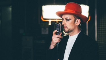 Boy George today: ''Doing a tour sober is great.''