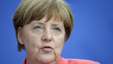 German Chancellor Angela Merkel's party supported the resolution.