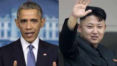 Sanctions: US President Barack Obama has authorised a new layer of sanctions on North Korea.
