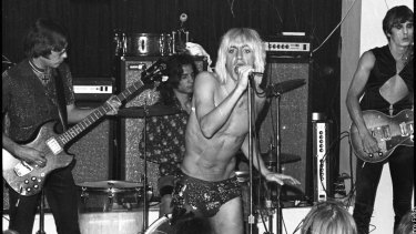 The Stooges in action.