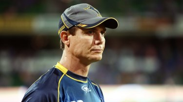 Brumbies coach Stephen Larkham says his side are taking small steps.