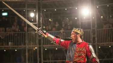Henry V at the Pop-Up Globe in Auckland.