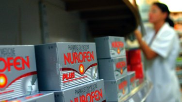 "Nurofen Plus contains codeine, which the TGA says is ""increasingly a drug of abuse in Australia""."