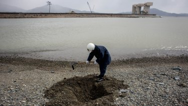 The search for remains of tsunami victims continues, four years later.