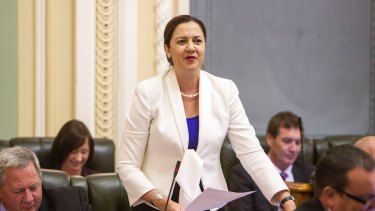 Opposition leader Annastacia Palaszczuk has led Labor out of the devastating 2012 election, but voters are still waiting for policies.