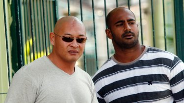 Hopes fading: Andrew Chan, left, and Myuran Sukumaran are on death row in Kerobokan Prison for drug smuggling.