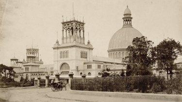 The Garden Palace, Sydney, circa 1879.