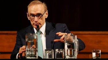 """Recognition of Palestine """"if there is no progress to a two-state solution"""": Bob Carr."""
