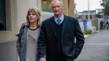Sheryl and Norman Paskin feared for Kelly's safety and called police.
