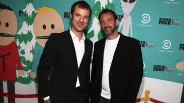 South Park creators Matt Stone and Trey Parker.