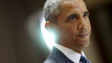 """US President Barack Obama: """"More than a decade later we still live with the consequences of the invasion of Iraq."""""""
