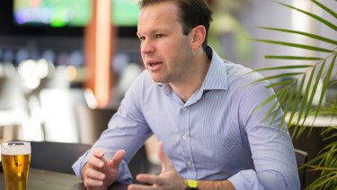 Federal Resources and Northern Australia Minister Matt Canavan was on show in Townsville for the Adani announcement.