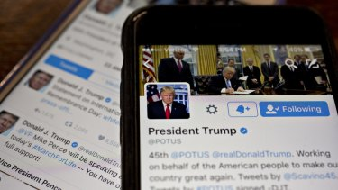 The Twitter accounts of Donald Trump and members of his administration were under scrutiny last week.