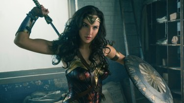 In charge: Gal Gadot is the best thing about Wonder Woman.
