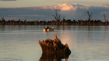 Lake Mulwala could play host to sailing events if the bid is successful.